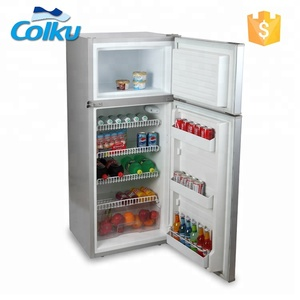 Solar Powered Mobile Home Multifunction 175L 210L Refrigerator For Vegetable