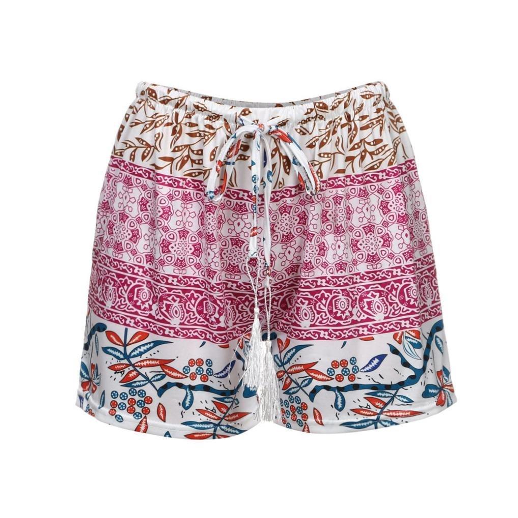 Hot!Women Summer Short Pants,Todaies Women Sexy Pants Summer Casual Shorts High Waist Yoga Sport Short Pants