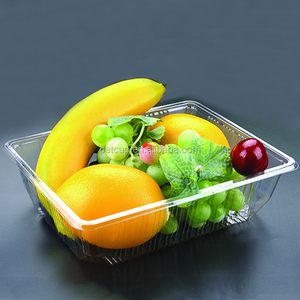 PET fruit plastic food tray