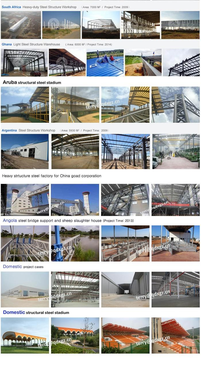 light steel structure warehouse for pakistan construction design china