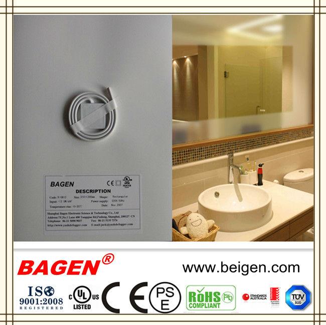 China Bagen Bath Mirror Defogger Mirror Demister China Bagen Bath