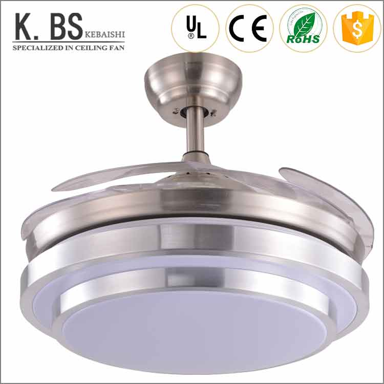 bladeless ceiling fan india online shopping price in hot selling light chrome fans wholesale with led