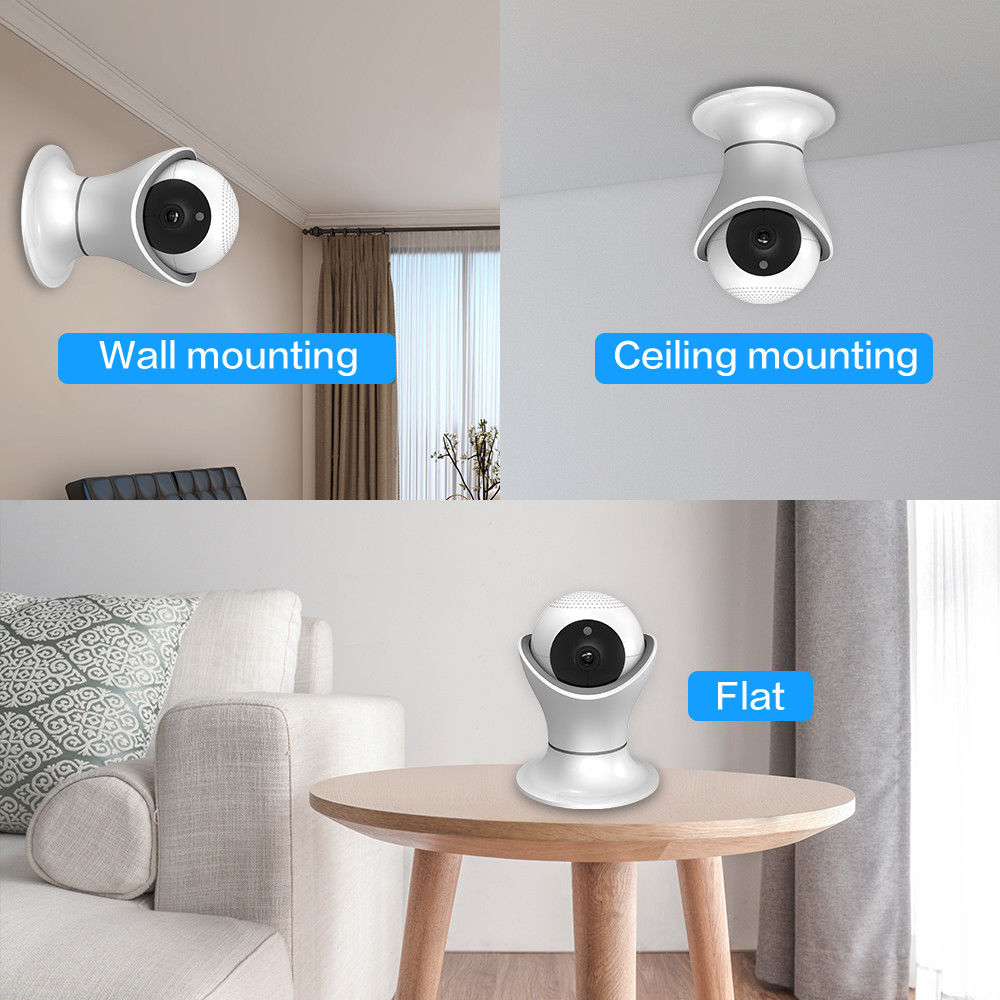AVstart 2019 New 1080P PTZ WiFi IP Camera for Home Security