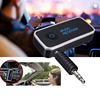 Most popular bt510 speaker receiver Wireless V4.2 EDR 3.5mm AUX A2DP bluetooth auto kits universal car kit made in China