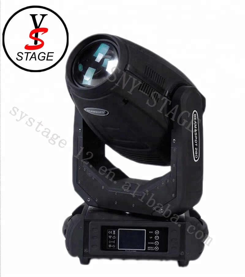 China Supplier DJ Lighting 280w 3 in 1 beam spot wash 10r <strong>Pointe</strong> Moving head beam robe robin Gobo Light