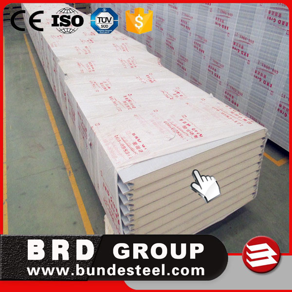 Hot! Hot! Hot! pu wall panel used 50mm foam insulation board