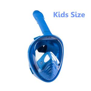 Full Face Snorkel Mask Kids Snorkel Mask Snorkeling Mask
