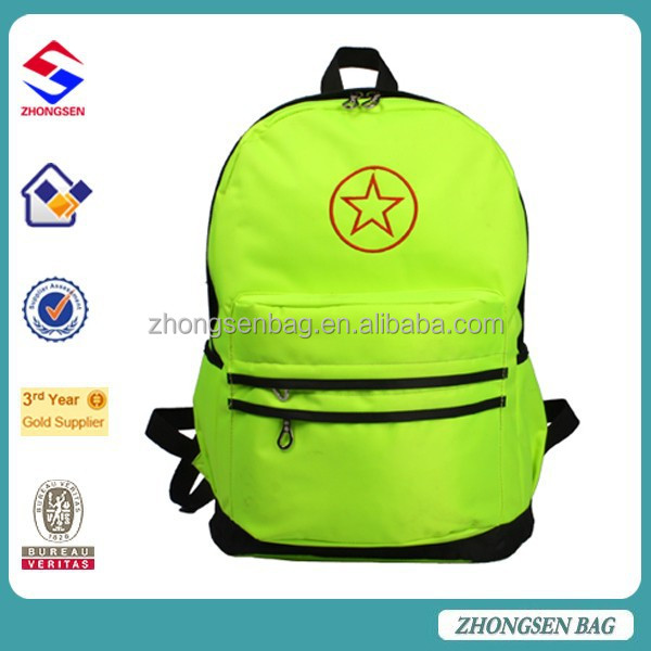 Student popular cute school backpack bag China online high quality scool book backpack bag