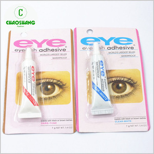 private label false eyelashes adhesive glue A