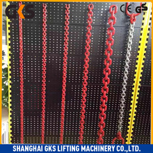 Welded forklift lift chain machine chain g80 alloy load chain