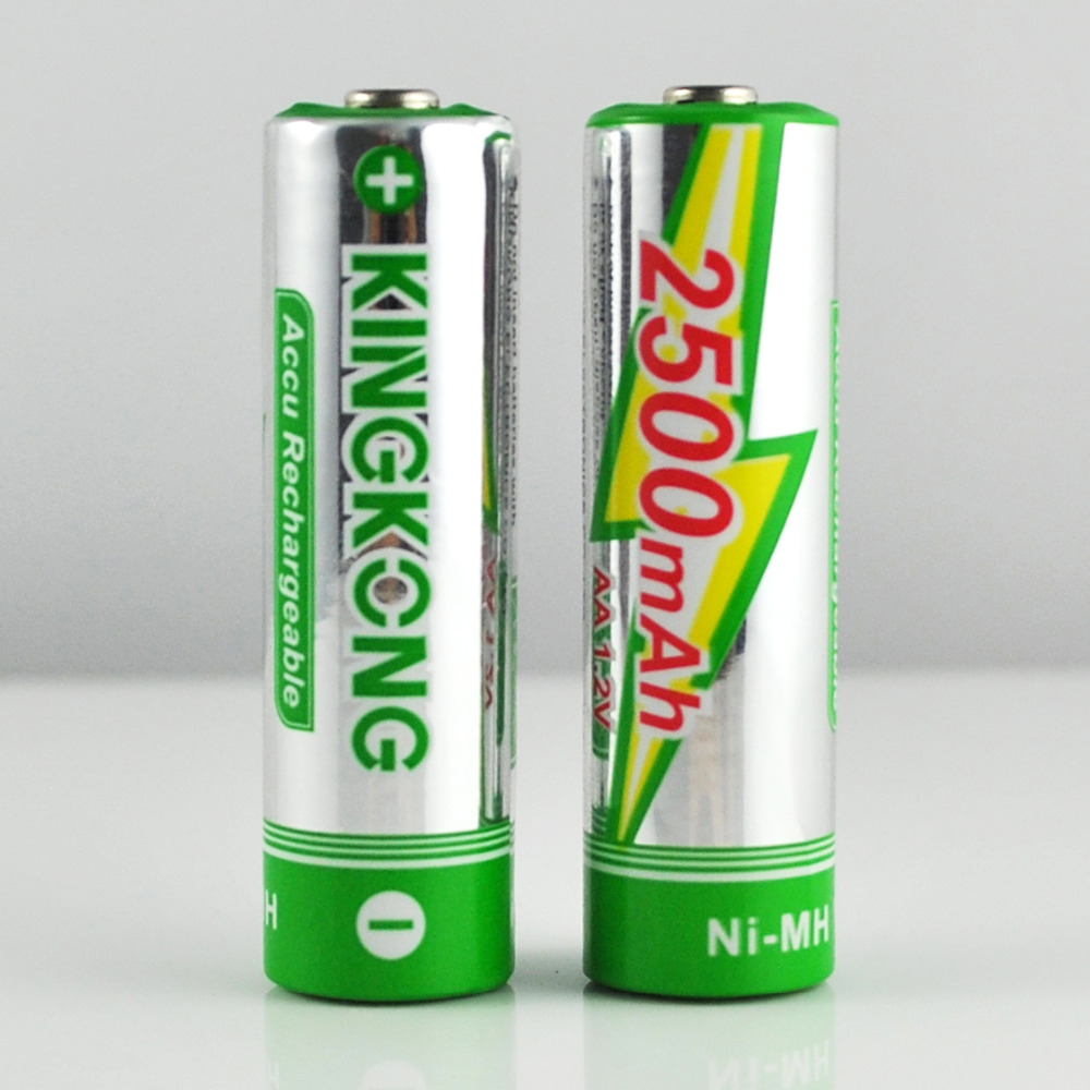 Nimh 1.2v 2500mah Aa Size Rechargeable Battery By China Supplier ...