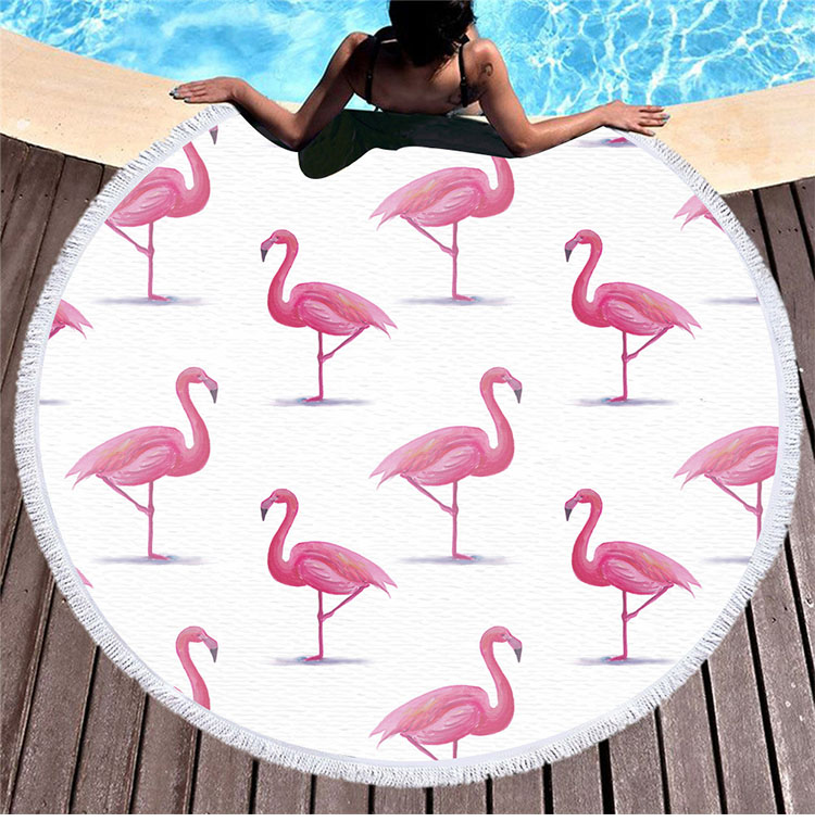 2019 new collection Custom printed microfiber beach towel