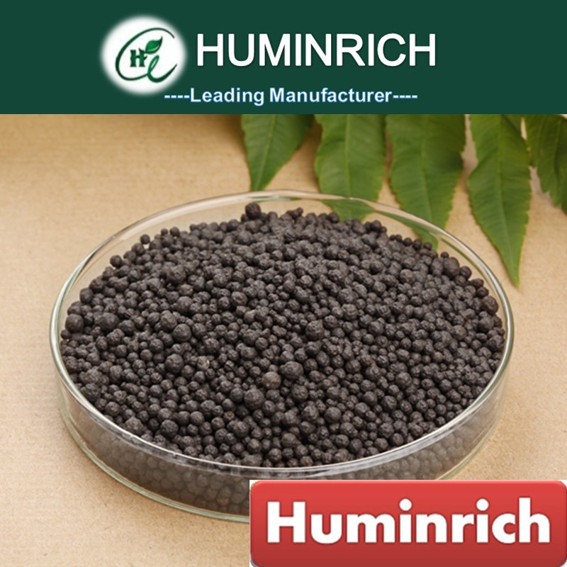 Huminrich Coffee Color Granulated Humic Acids Fertilizer NPK Supplier