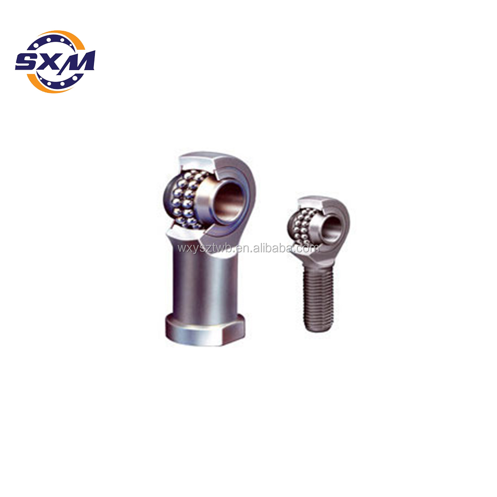 Rod end bearing rose type ball joint 6mm male