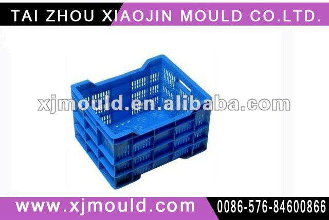 commodity plastic crate mould,household products crate injection mold