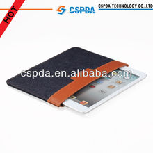 High quality jeans pouch case cover for iPad Mini 2