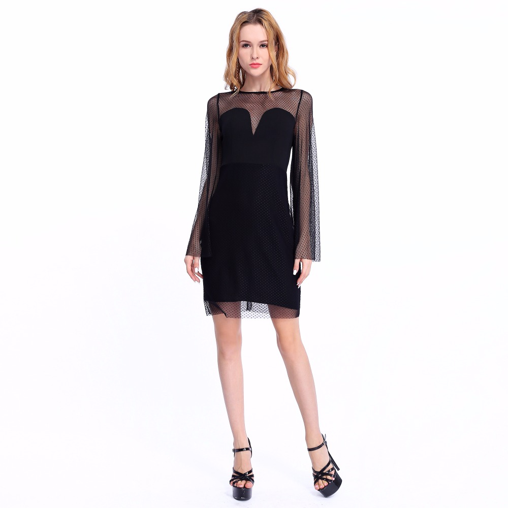 slim body sexy clothing new brand ladies dresses 2018 spring office dresses woman