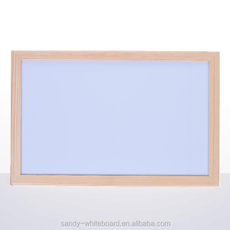 Venta caliente marco de madera tablero de escritura magnético para ...