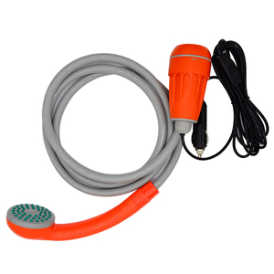 TV Shopping 12V car plug portable garden watering Sprayer outdoor camping shower equipment