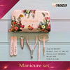 Hot selling cosmetic tool nail set manicure tools beauty manicure set with bag