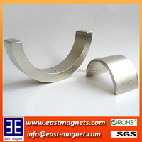 Moto Magnet Application and Permanent Type Arc Sintered neodymium magnets