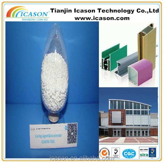TGIC for pure polyeter powder coating as curing agent White granule or powder