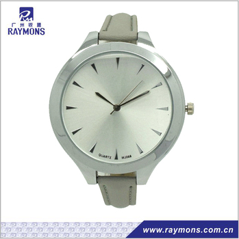 New Arrival ladies leather strap vintage watch,long strap woman watch