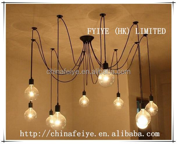 Kronleuchter Schwarz Metall ~ Anhänger kronleuchter modern beleuchtung industrie kronleuchter