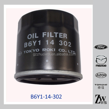 Engine Parts Japanese B6y1-14-302 Mazda Miata Mx-5 Oil Filter - Buy Oil  Filters,Mazda Oil Filters,Mazda Miata Oil Filter Product on Alibaba com