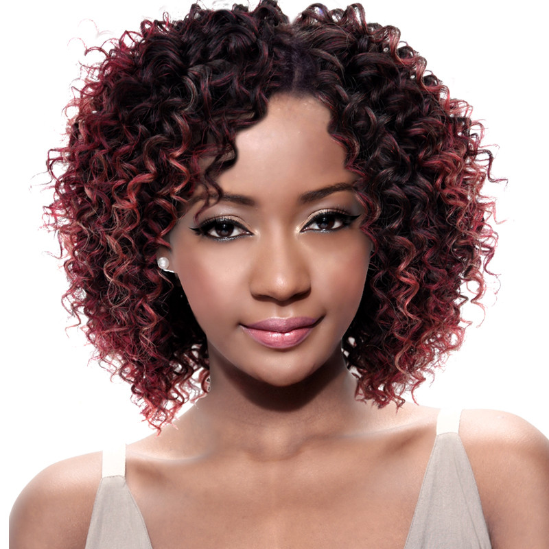 Rebecca Synthetic Soft Hair Extension Curly Hair Extension For Black