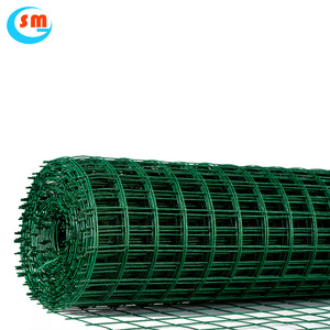 Promotional Top Quality 1/4'-2' Opening 2X2 Pvc Coated Welded Wire Mesh
