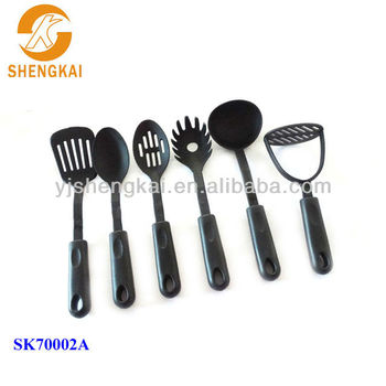 6pcs good quality nylon cheap kitchen utensils buy cheap for Kitchen tool 6pcs set