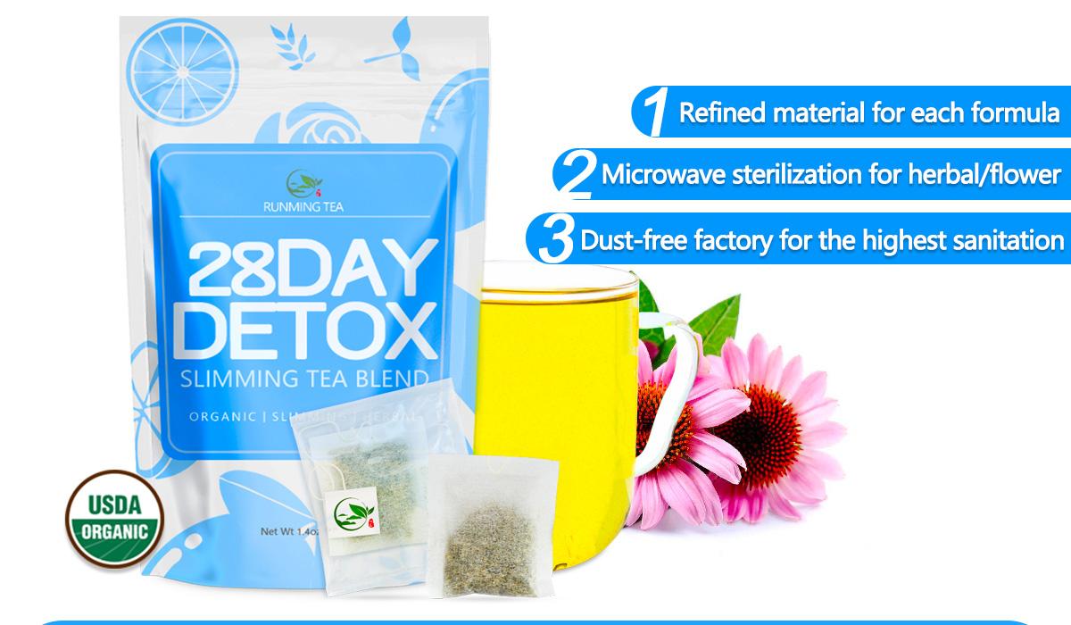 OEM Custom Organic 28 Day Private Label Detox Tea Body Cleanse Fast Lose  Weight Skinnyfit Tea/Skinnyfit Triple Leaf Detox Tea, View Oem detox tea,  RM