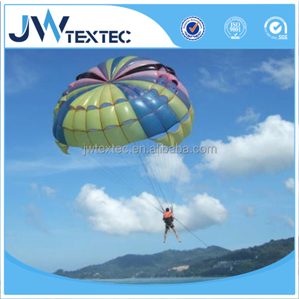 lightweight nylon 66 rip-stop silicon coated parachute fabric