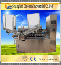 Automatic Aluminum Soft Tube Filling Sealing Machine TIGER BZ100B for toothpaste and cosmetics