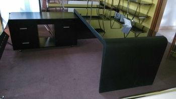 tempered glass office desk. Black Tempered Glass Computer Desk,glass Office Desk,stainless Steel Desk MR-