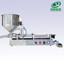 Semi auto liquid/milk/beverage bottle filling machine