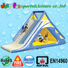 outdoor inflatable float water slide for kids n adults