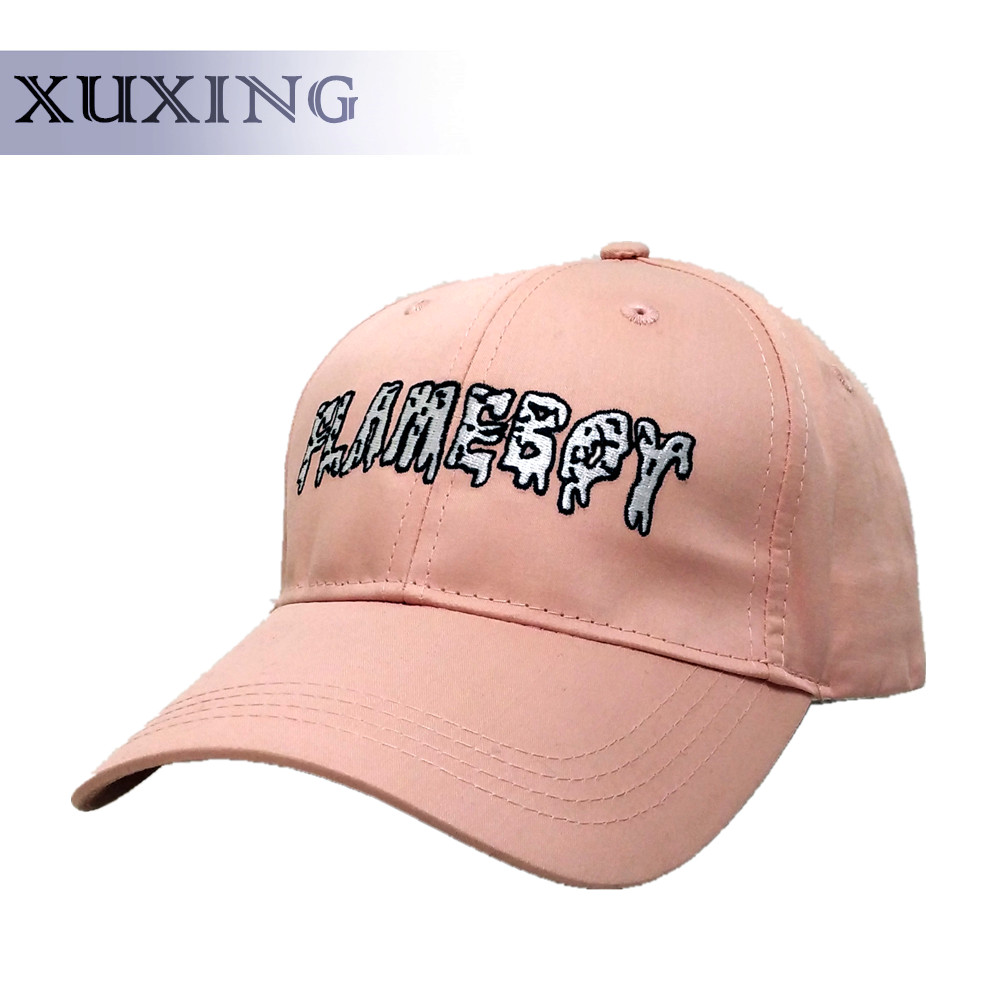 100% Cotton Solid Color Women Baseball Caps with Custom Embroidery Wholesale