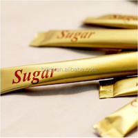 custom logo sugar sachet/sugar packets/packet sugar