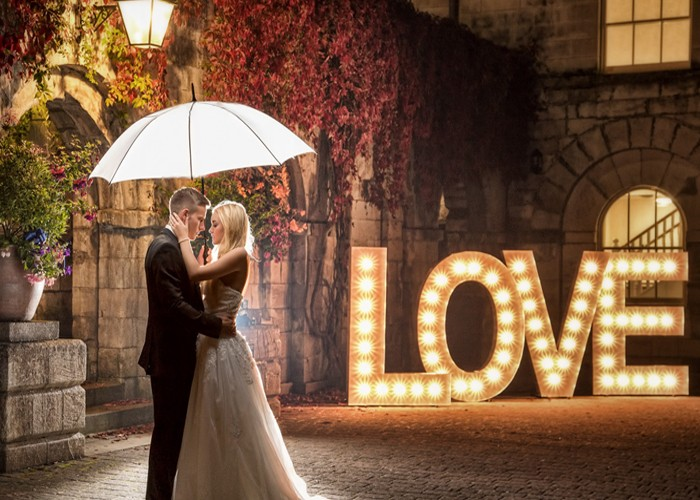 Acs Giant Light Up Love Letters Wedding