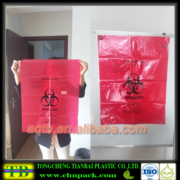 Infectious Waste Medical Waste Autoclave Sterilization Bags ...