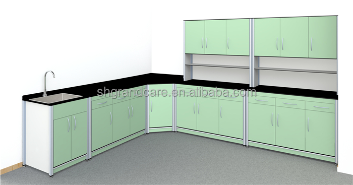 High Quality And Fashion Design Laboratory Sink Cabinet With Board ...