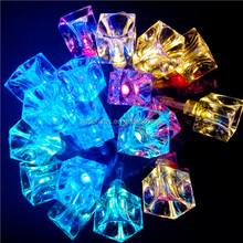 20L led battery string light led colorful ice cube lights led christmas decoration lights