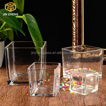 Fashion Personalized Glass Vase Flower Planter Pot Home Office Decor