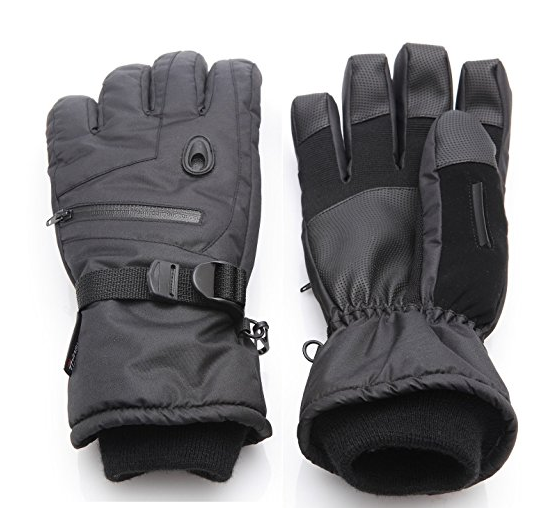 2017 OEM Waterproof Leather Snowmobile Ski Mittens Ski gloves