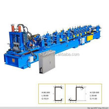 C Z purlin roll forming machine/ Z section stud roll forming machine/ roll formig machine for sale