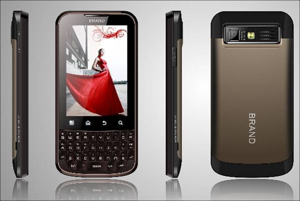 3G UMTS|HSUPA 3.2 Inch Qwerty Android 2.2 Smart Phone