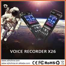 Top selling usb voice recorder with 1.8inch color screen ,support 32GB external TF card