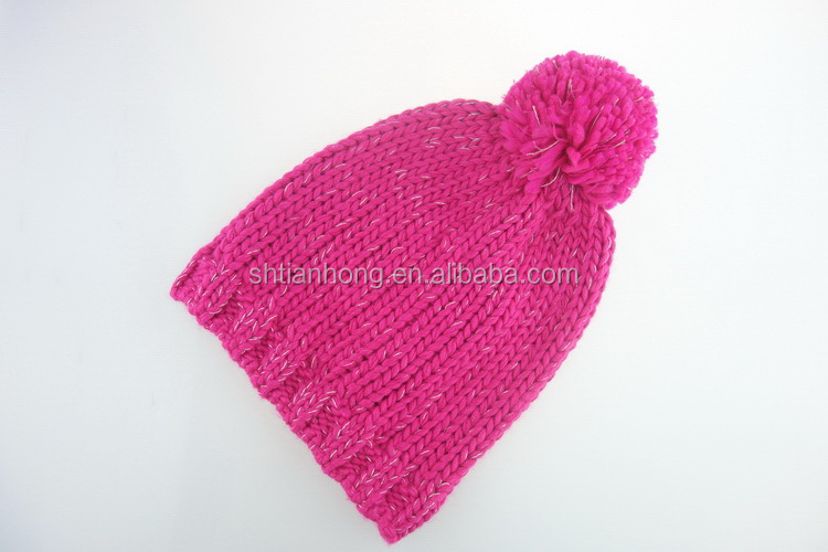 Excellent quality hot selling winter women s knitted hat